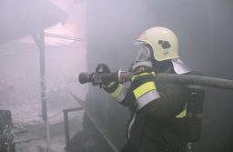Trafóház tűz a Budafoki úton. Egy ember életét vesztette