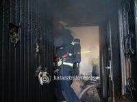 Teljes terjedelmében égett egy társasházi lakás Budapest XI. kerületében